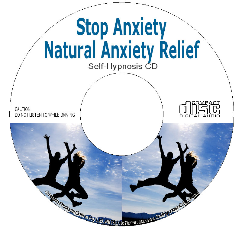 natural anxiety relief self hypnosis cd